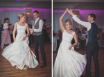Dancing at a wedding bride and groom Abbey Hotel Roscommon Galway Happy Fun