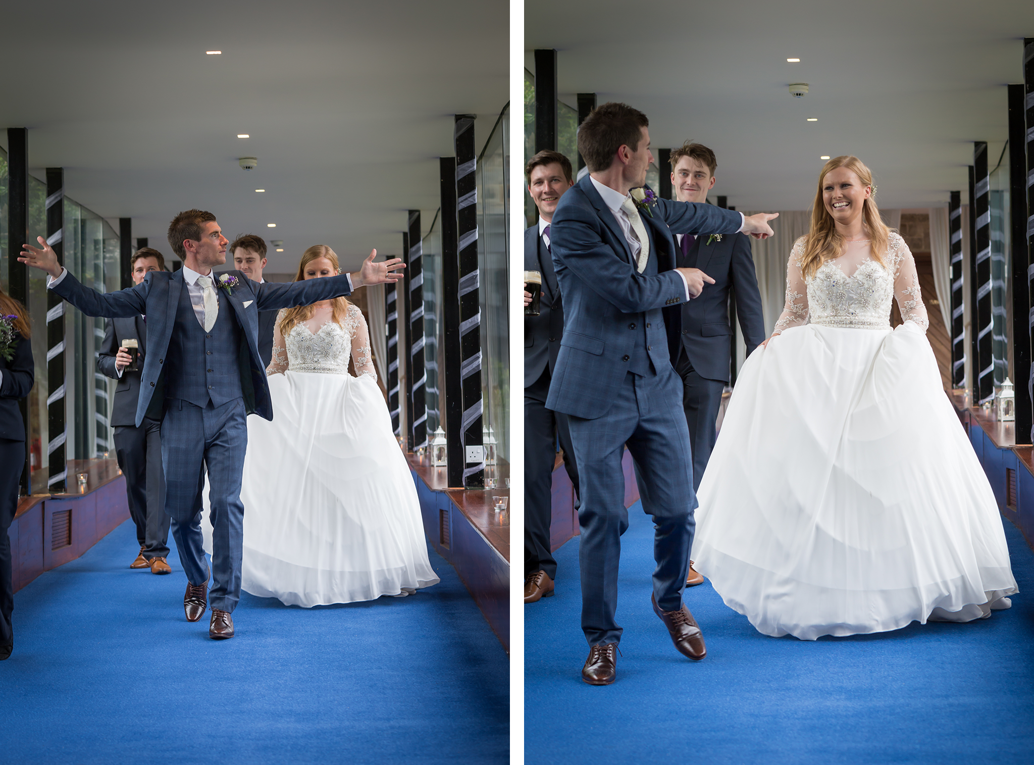 Fun wedding photography Galway Roscommon