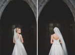 Wedding dress Wedding Photographer Galway Roscommon Knockcroghery church original fun wedding photography