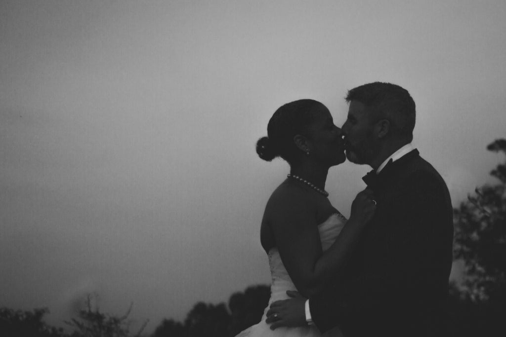 Romantic photo of Bride and groom