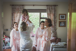 Bridesmaids and Bride with flowergirl Roscommon/Galway Wedding photography