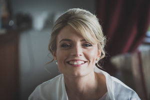Happy wedding photography Bridal preparations Roscommon Galway Hair Makeup