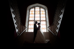 Abbey hotel wedding photography stained glass stairs roscommon galway