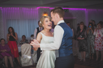 First dance Happy Bride wedding reception Wedding photography connaught nationwide