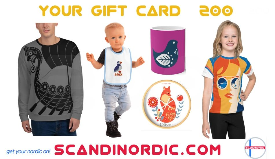 Get Your ScandiNordic Gift Card NOW