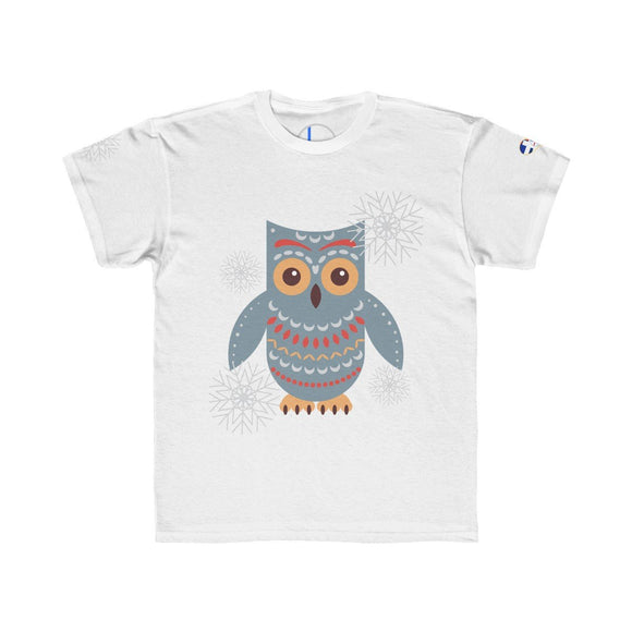 SCANDINORDIC Childrens Snow Owl Shirt - SCANDINORDIC.com