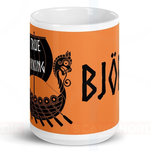 True Viking Gloss Coffee Mug - SCANDINORDIC.com