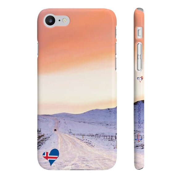 SCANDINORDIC Iceland Snow Phone Case ~ FREE Customization ~ CUSTOMIZE FREE - SCANDINORDIC.com