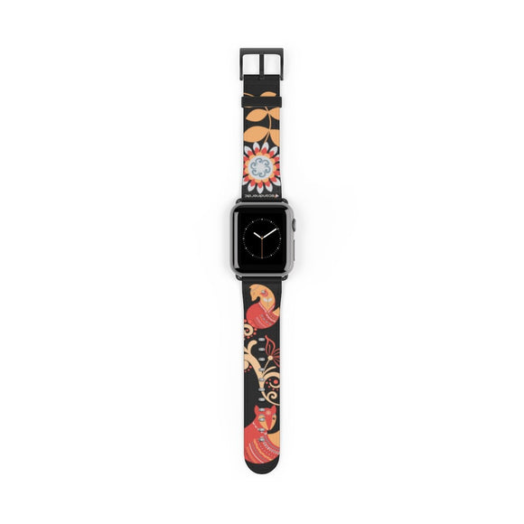 Foxy Lady Black Apple Watch Band - SCANDINORDIC.com