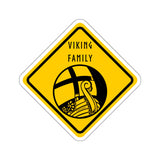 VIKING FAMILY Norse Sticker - SCANDINORDIC.com