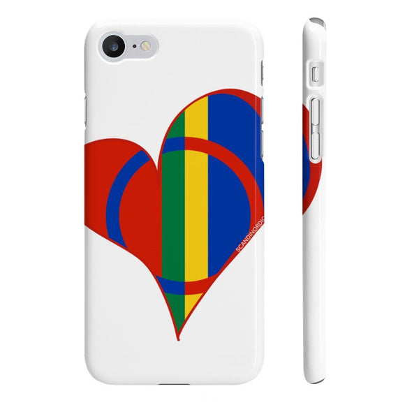 Sami Heart Phone Case Clear ~ CUSTOMIZE FREE - SCANDINORDIC.com