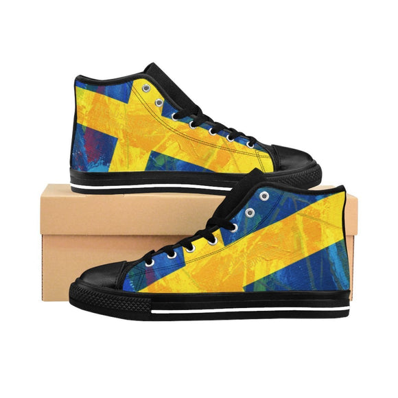 SCANDINORDIC Sweden Grunge Flag Footwear ~ Exclusive Design - SCANDINORDIC.com