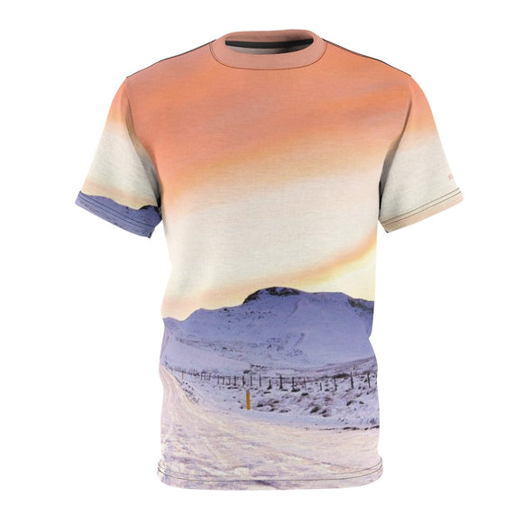 SCANDINORDIC Iceland Sunset Snow Shirt ~ Exclusive Design - SCANDINORDIC.com