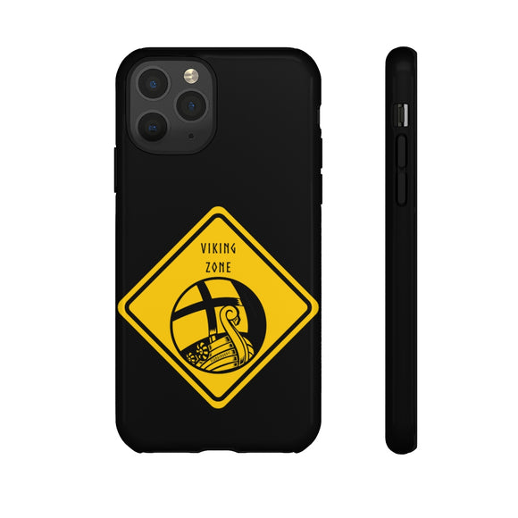 VIKING ZONE TOUGH PHONE CASE  - FREE CUSTOMIZATION - SCANDINORDIC.com