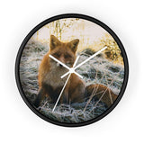 SCANDINORDIC Artic Red Fox Clock - SCANDINORDIC.com