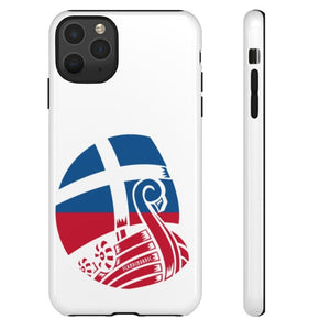 FAROE VIKING SHIP TOUGH PHONE CASE  - FREE CUSTOMIZATION - SCANDINORDIC.com