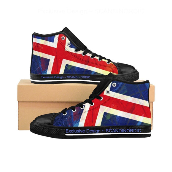 SCANDINORDIC Iceland Art High Top Footwear ~ Exclusive Design - SCANDINORDIC.com