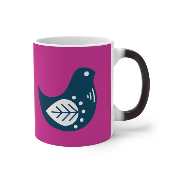 Boho Bird Magic Mug - ADD YOUR NAME FREE - SCANDINORDIC.com