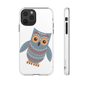 SCANDI NORDIC OWL PHONE CASE - FREE CUSTOMIZATION ~ CUSTOMIZE FREE - SCANDINORDIC.com
