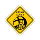 VIKING FAMILY Modern Sticker - SCANDINORDIC.com