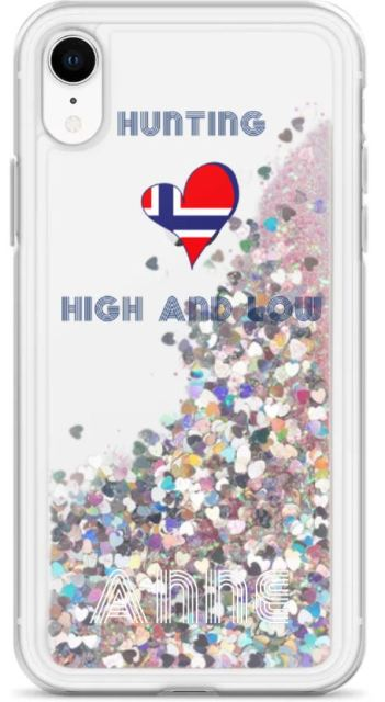 Hunting High And Low Glitter Phone Case (3 Colors) - SCANDINORDIC.com