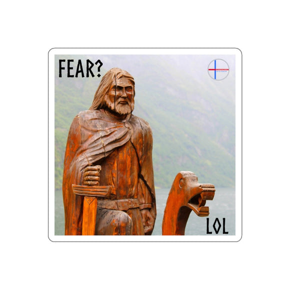 SCANDINORDIC Fear Lol Dreki Sticker - SCANDINORDIC.com