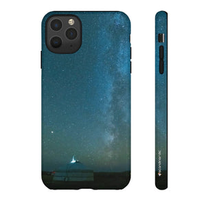 Iceland Night Sky Aesthetic Phone Case ~ CUSTOMIZE FREE - SCANDINORDIC.com