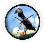 ScandiNordic Puffin Clock ~ Exclusive Design - SCANDINORDIC.com