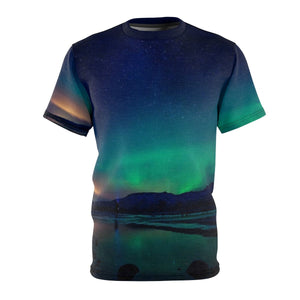 SCANDINORDIC Iceland Northern Lights Shirt ~ Exclusive Design - SCANDINORDIC.com