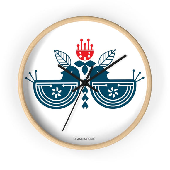 SCANDINORDIC Royal Birds Clock - SCANDINORDIC.com