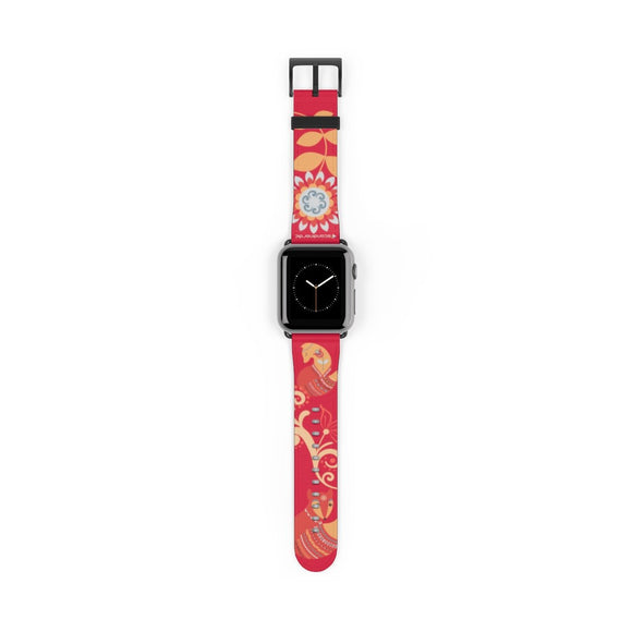 Foxy Lady Red Apple Watch Band - SCANDINORDIC.com