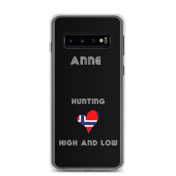 Hunting High And Low Samsung Phone Case - SCANDINORDIC.com