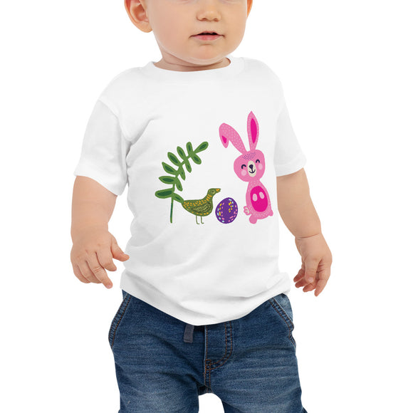 Nordic Bunny Toddler Shirt - SCANDINORDIC.com