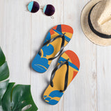 Retro Vacation Flip Flops - SCANDINORDIC.com
