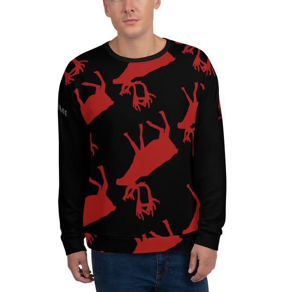 KOS MOOSE Unisex Sweatshirt Yourway2norway - SCANDINORDIC.com