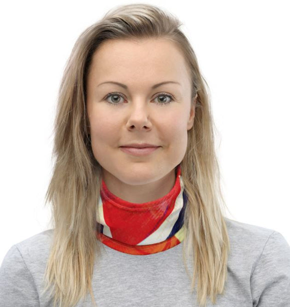 NORWAY Grunge Flag Scarf - SCANDINORDIC.com