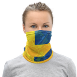 SWEDEN FLAG GRUNGE Face Neck Scarf - SCANDINORDIC.com