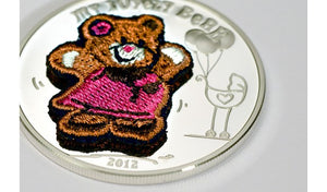 Palau - 5 dólar 2012. My lovely bear