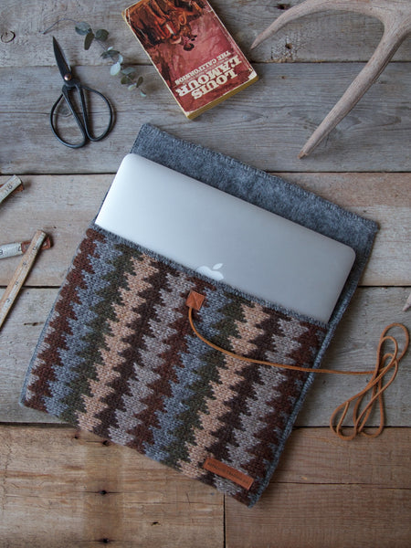 Icelandic Wool MacBook Sleeve