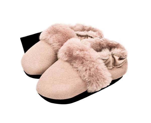 Sheep Skin Baby Shoes