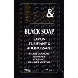 F&W BLACK SOAP - SAVON PURIFIANT | ORIGINAL
