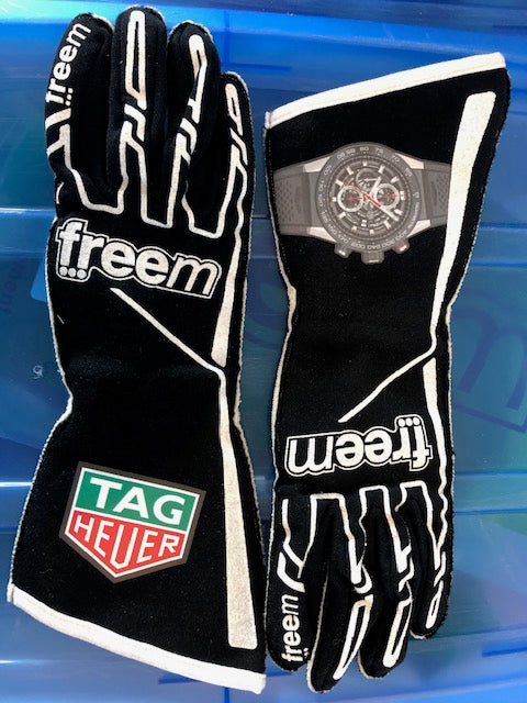 Freem Printed Motorsport Gloves