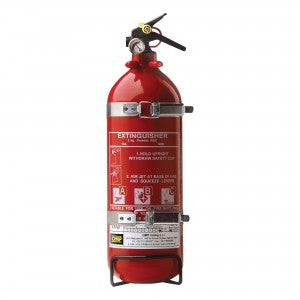 OMP Alu Hand Held Extinguishers (cab316)