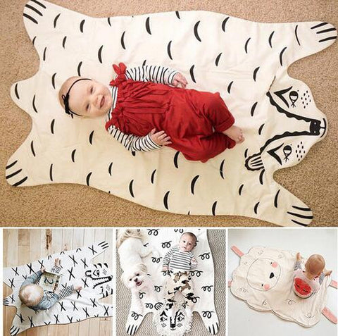 Animal Play Mat - Bear, Lion, Tiger