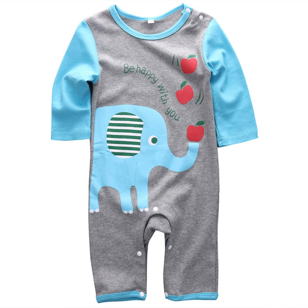 Elephant & Giraffe Adorable Rompers (2 Designs)