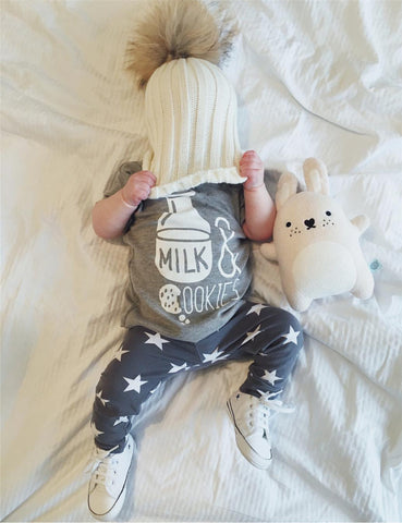 Milk & Cookies - Unisex 2-Piece Clothing Set
