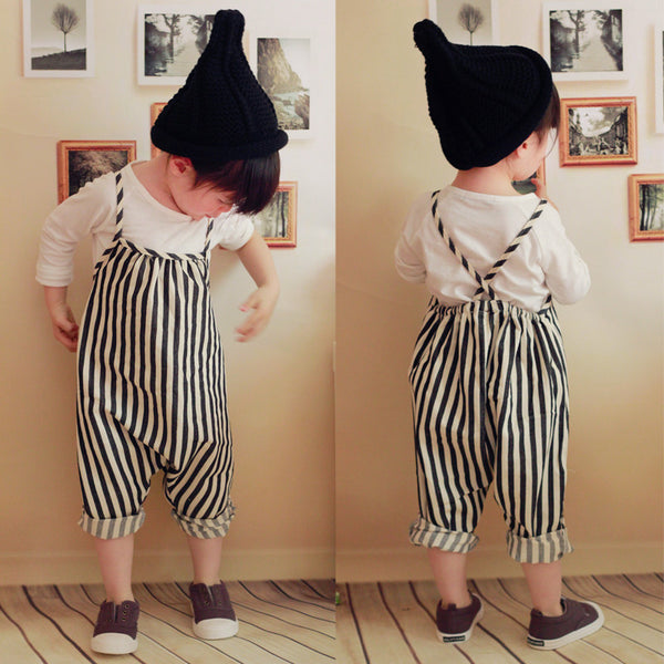 Cotton Toddler Overalls