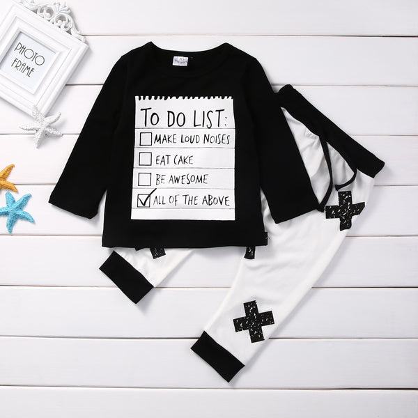 2-Piece Cotton Toddler Outfit