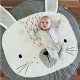 100% Cotton Moon Child Baby Room Mat (7 Designs)