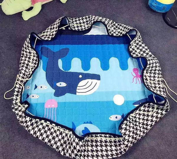 Large Play Area Mat/Blanket - Folds into a Bag